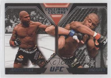 2011 Topps UFC Moment of Truth - Colission Course Duals #CC-JE - Quinton Jackson, Rashad Evans
