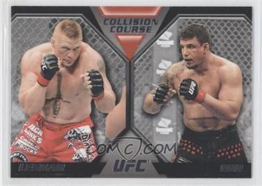 2011 Topps UFC Moment of Truth - Colission Course Duals #CC-LM - Brock Lesnar, Frank Mir