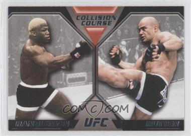 2011 Topps UFC Moment of Truth - Colission Course Duals #CC-RR - Kevin Randleman, Bas Rutten