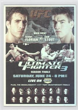 2011 Topps UFC Moment of Truth - Fight Poster Review #FPR-TUF3 - TUF3 (Kenny Florian, Sam Stout)