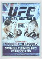 UFC110 (Antonio Rodrigo Nogueira, Cain Velasquez, Wanderlei Silva, Michael Bisp…