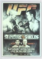 UFC129 (Georges St-Pierre, Jake Shields, Jose Aldo, Mark Hominick)