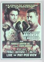 UFC55 (Andrei Arlovski, Paul Buentello, Forrest Griffin, Elvis Sinosic)