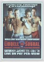 UFC82 (Chuck Liddell, Renato Sobral, Forrest Griffin, Stephan Bonnar)