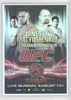 UFC on VS 2 (Jon Jones, Vladimir Matyushenko, Yushin Okami, Mark Munoz)