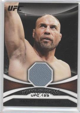 "2011 Topps UFC Moment of Truth - Mat Relic - Onyx #MTMR-RC - Randy ""The Natural"" Couture (Randy Couture) /88"