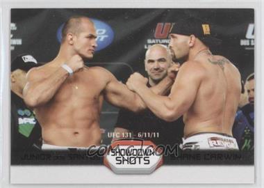 2011 Topps UFC Moment of Truth - Showdown Shots Duals - Onyx #SS-DC - Junior Dos Santos, Shane Carwin /88