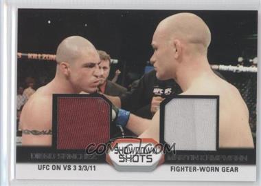 2011 Topps UFC Moment of Truth - Showdown Shots Duals - Relics [Memorabilia] #SSDR-SK - Diego Sanchez, Martin Kampmann
