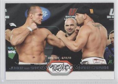 2011 Topps UFC Moment of Truth - Showdown Shots Duals #SS-DC - Junior Dos Santos, Shane Carwin