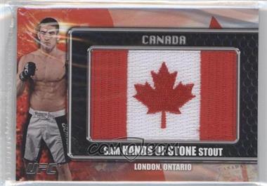 2011 Topps UFC Title Shot - [???] #CP-SS - Sam Stout
