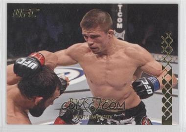 2011 Topps UFC Title Shot - [Base] - Gold #107 - Rick Story