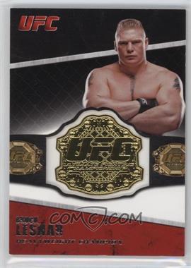 2011 Topps UFC Title Shot - Championship Belt Plate Relic #CB-BL - Brock Lesnar