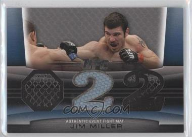 2011 Topps UFC Title Shot - Fight Mat Relic - Silver #FM-JM - Jim Miller /88