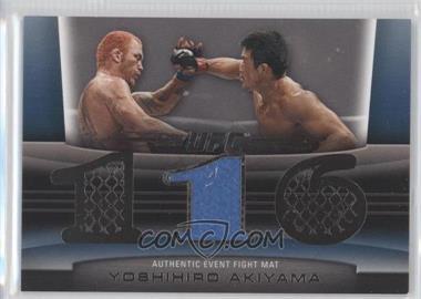 2011 Topps UFC Title Shot - Fight Mat Relic - Silver #FM-YA - Yoshihiro Akiyama /88