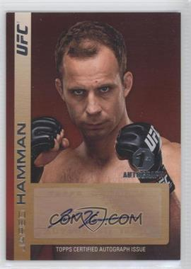 2011 Topps UFC Title Shot - Fighter Autographs #FA-JH - Jared Hamman