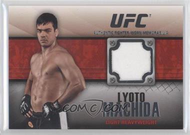 2011 Topps UFC Title Shot - Fighter Relics #FR-LM - Lyoto Machida