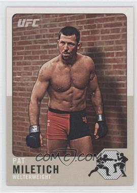 2011 Topps UFC Title Shot - Legacy #L-19 - Pat Miletich