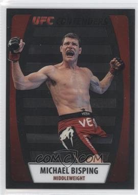 2011 Topps UFC Title Shot - UFC Contenders - Black #C-MBI - Michael Bisping /88