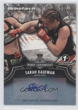2012 Topps UFC Bloodlines - Certified Autograph Issue #A-SK - Sarah Kaufman /449