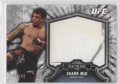 2012 Topps UFC Bloodlines - Fighter Jumbo Relics #FJR-FM - Frank Mir /88