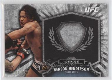 2012 Topps UFC Bloodlines - Fighter Relics #FR-BH - Benson Henderson (Ben Henderson) /188