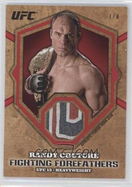 """2012 Topps UFC Bloodlines - Fighting Forefathers Relics - Red #FFR-RC - Randy """"The Natural"""" Couture (Randy Couture) /8"""