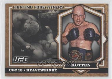 2012 Topps UFC Bloodlines - Fighting Forefathers #FF-BS - Bas Rutten