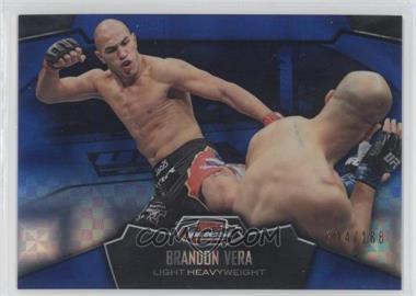2012 Topps UFC Finest - [Base] - Blue X-Fractor #37 - Brandon Vera /188
