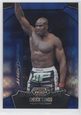 2012 Topps UFC Finest - [Base] - Blue X-Fractor #38 - Cheick Kongo /188