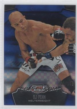 2012 Topps UFC Finest - [Base] - Blue X-Fractor #60 - B.J. Penn (BJ Penn) /188