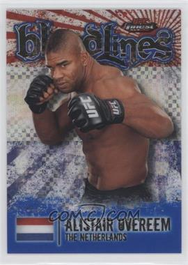 2012 Topps UFC Finest - Bloodlines - Blue X-Fractor #BL-AO - Alistair Overeem /188
