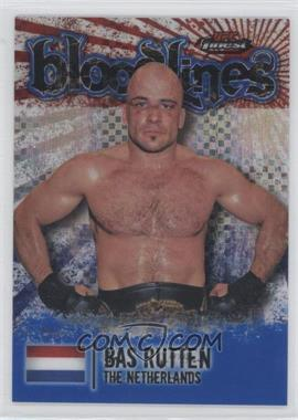 2012 Topps UFC Finest - Bloodlines - Blue X-Fractor #BL-BR - Bas Rutten /188