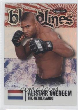 2012 Topps UFC Finest - Bloodlines #BL-AO - Alistair Overeem