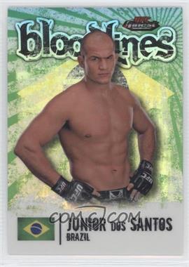 2012 Topps UFC Finest - Bloodlines #BL-JDS - Junior Dos Santos