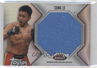 2012 Topps UFC Finest - Fight Mat Jumbo Relic #FFJM-CL - Cung Le