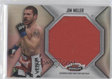 2012 Topps UFC Finest - Fight Mat Jumbo Relic #FFJM-JM - Jim Miller
