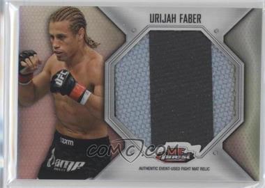 2012 Topps UFC Finest - Fight Mat Jumbo Relic #FFJM-UF - Urijah Faber