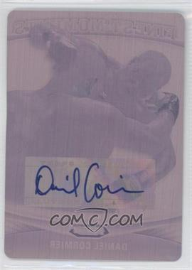 2012 Topps UFC Finest - Finest Moments - Printing Plate Magenta #FM-DC - Daniel Cormier /1