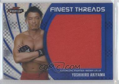 2012 Topps UFC Finest - Jumbo Finest Threads - Blue X-Fractor #JFT-YA - Yoshihiro Akiyama /188