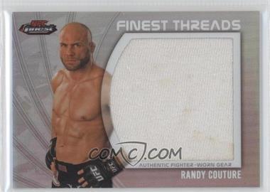 2012 Topps UFC Finest - Jumbo Finest Threads #JFT-RC - Randy Couture