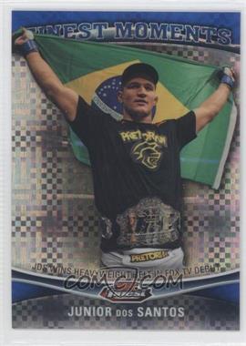 2012 Topps UFC Finest - Moments - Blue X-Fractor #FM-JDS - Junior Dos Santos /188