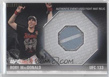 2012 Topps UFC Knockout - [???] #FM-RM - Rory MacDonald /299