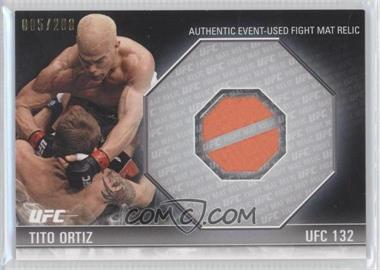 2012 Topps UFC Knockout - [???] #FM-TO - Tito Ortiz /288