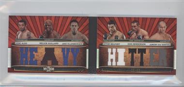 2012 Topps UFC Knockout - [???] #TTRDC-AGEBHD - Jose Aldo, Melvin Guillard, Jake Ellenberger, Vitor Belfort, Dan Henderson, Junior Dos Santos /36