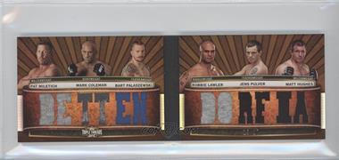 2012 Topps UFC Knockout - [???] #TTRDC-MCPLPH - Pat Miletich, Robbie Lawler, Mark Coleman, Jens Pulver, Bart Palaszewski, Matt Hughes /27