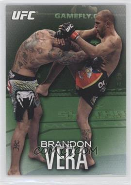 2012 Topps UFC Knockout - [Base] - Green #44 - Brandon Vera /88