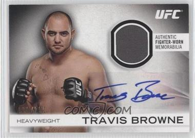 2012 Topps UFC Knockout - Fight Gear Autographs #AFG-TB - Travis Browne /200