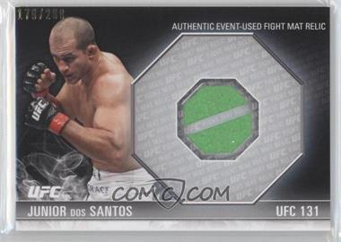 2012 Topps UFC Knockout - Fight Mat Relics #FM-JDS - Junior Dos Santos /288