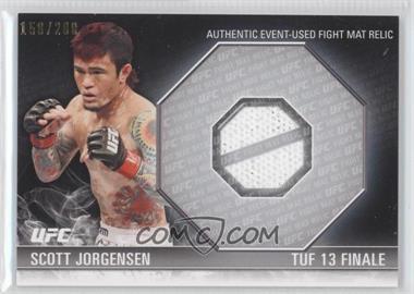 2012 Topps UFC Knockout - Fight Mat Relics #FM-SJ - Scott Jorgensen /288