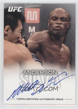 """2012 Topps UFC Knockout - Fighter Autographs #FA-ASI - Anderson """"The Spider"""" Silva (Anderson Silva) /75"""